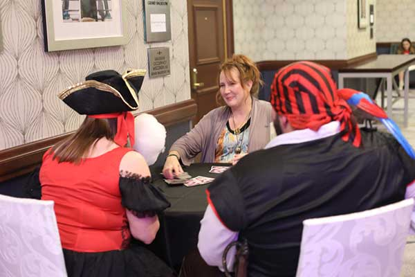 Haunted Carnival fortune teller