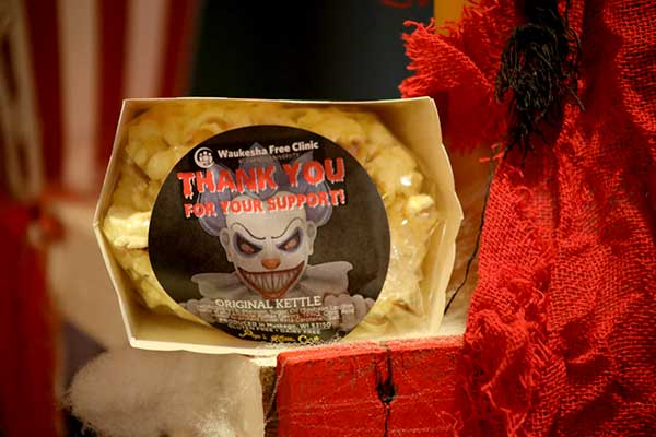 Haunted Carnival kettle corn thank you