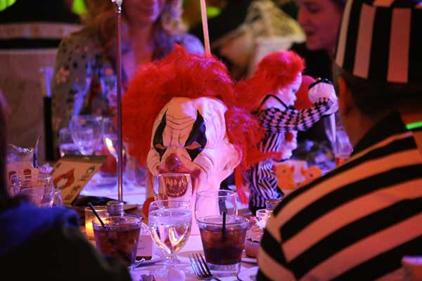 Haunted Carnival table decorations